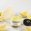 Verso de queixo ao limón