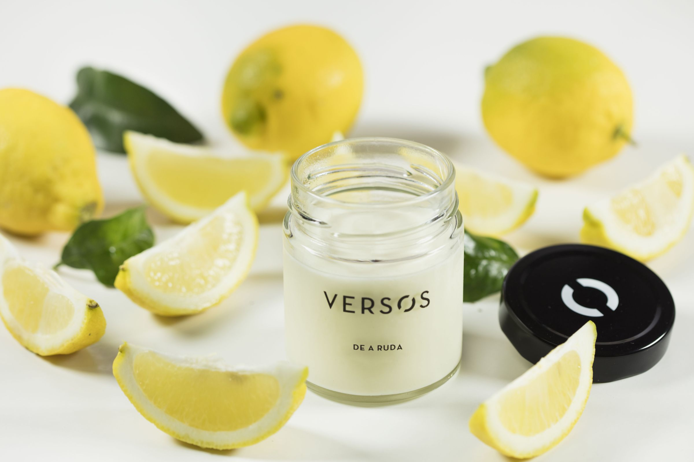 verso cremoso de limón