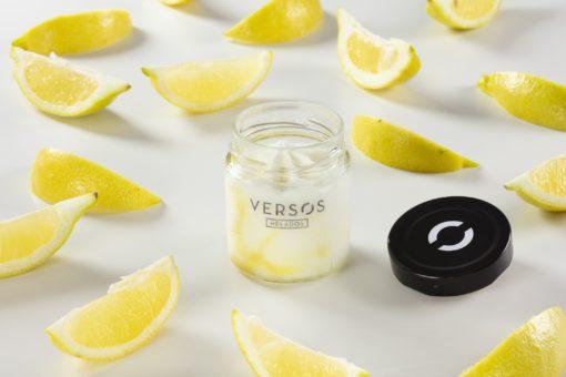 Verso xeado de Limón